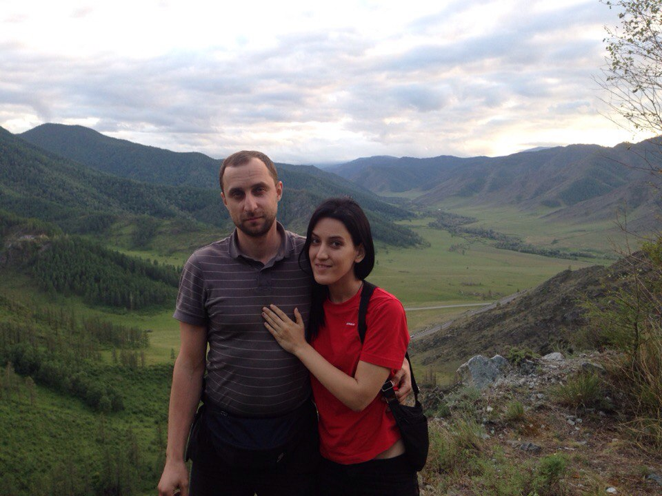 Дмитрий Бученков и Анна Кородева  фото из личного архива